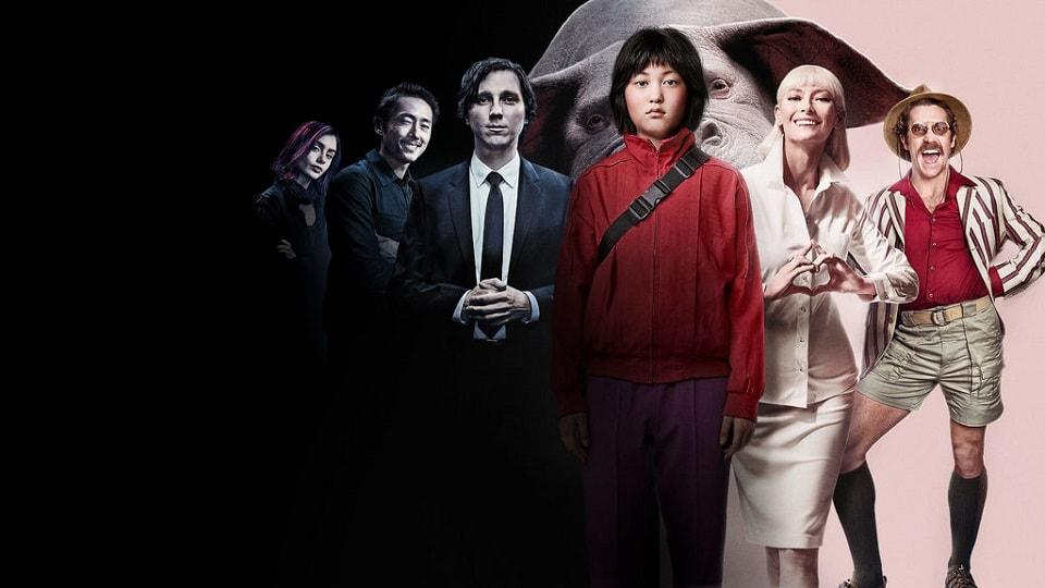 """Окча, Okja, фантастика, SciFi, обзор, рецензия, Review, новый фильм автора """"Сквозь снег"""", Snowpiercer, фильм про огромного свинобегемота"""