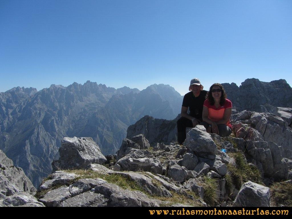 Ruta Ercina, Verdilluenga, Punta Gregoriana, Cabrones: Cima de la Verdilluenga