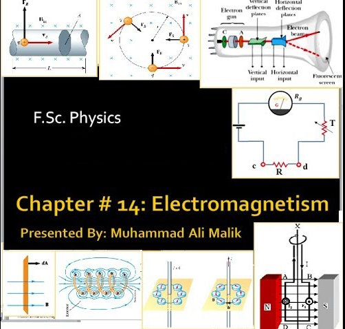 Chapter # 14: (F Sc  Physics 2nd Year) Electromagnetism