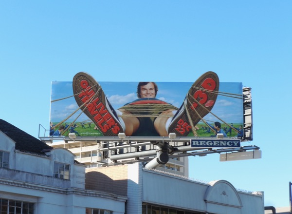 Gullivers Travels movie billboard Sunset Strip