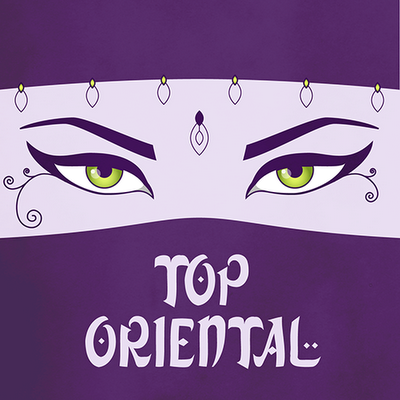 Top Oriental music compilation illustration
