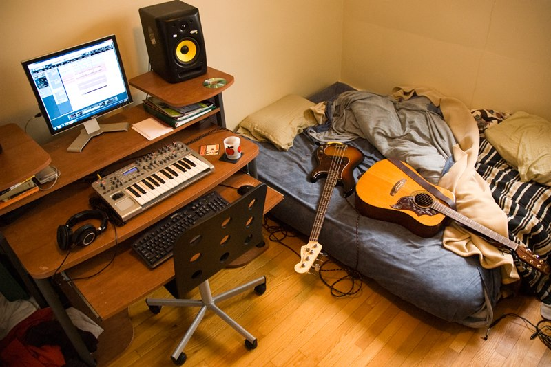 monkey stories - starting your home studio like a pro - the room