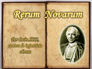 Theo about rerum novarum