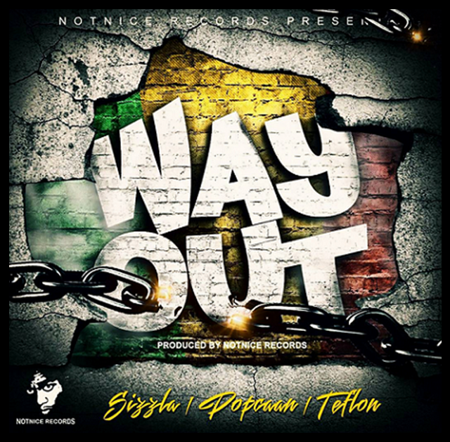 DOWNLOAD : Popcaan – Way Out ft Sizzla & Teflon (Prod by