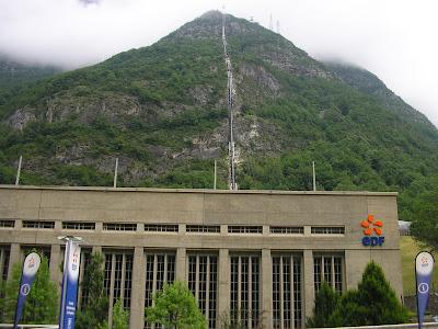 Central de la EDF de Pragneres