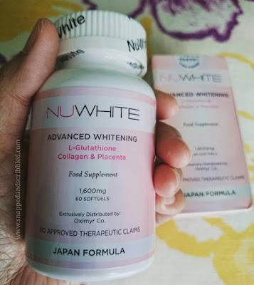 NuWhite Glutathione Advanced Whitening