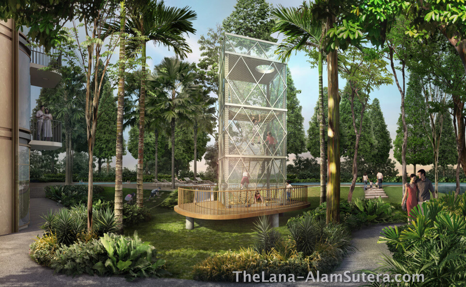 Wayang Tower @ The Lana Alam Sutera