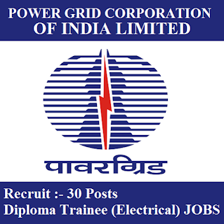 Power Grid Corporation of India Limited, PGCIL, Power Grid, Diploma Trainee, Diploma, freejobalert, Sarkari Naukri, Latest Jobs, pgcil logo