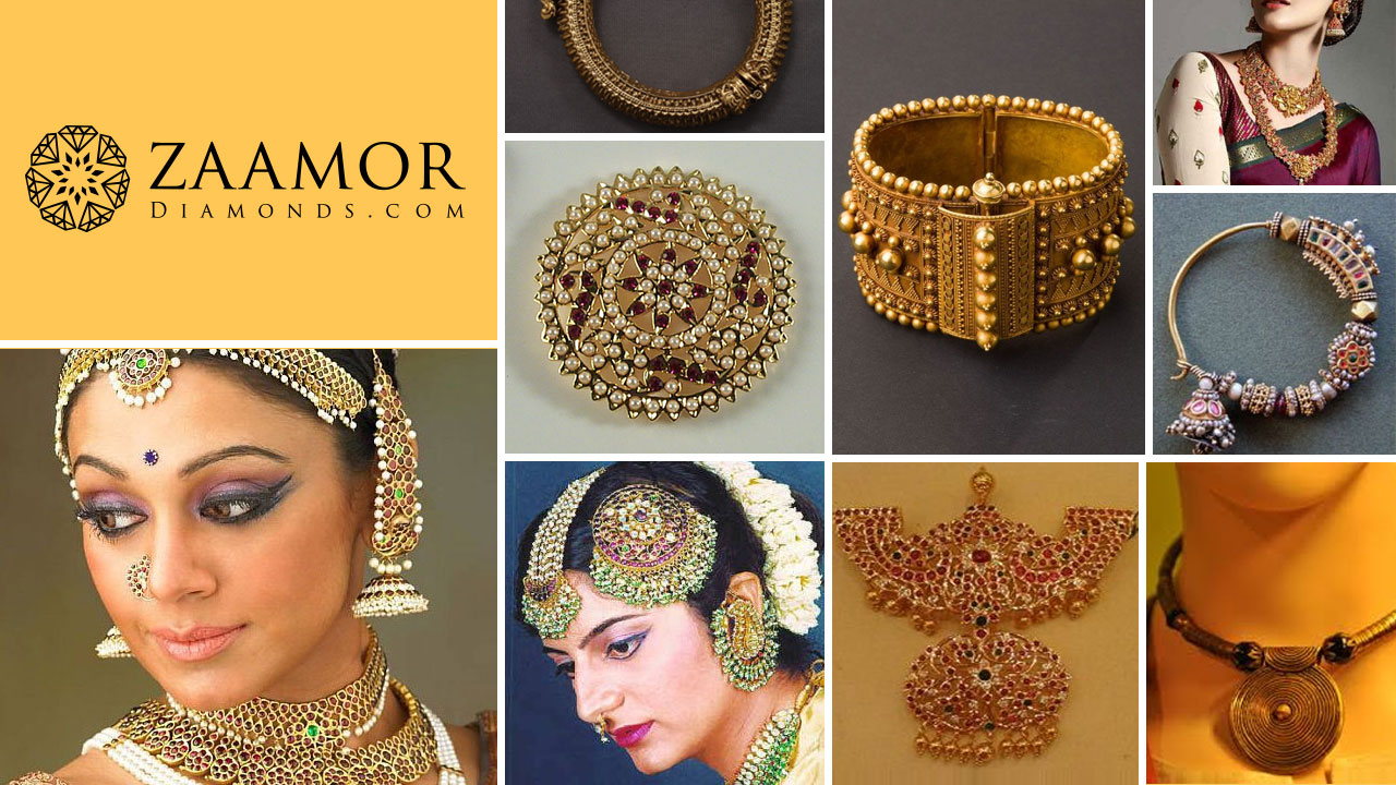 Traditional Jewellery of Tamil Nadu | Zaamor Diamonds Blog