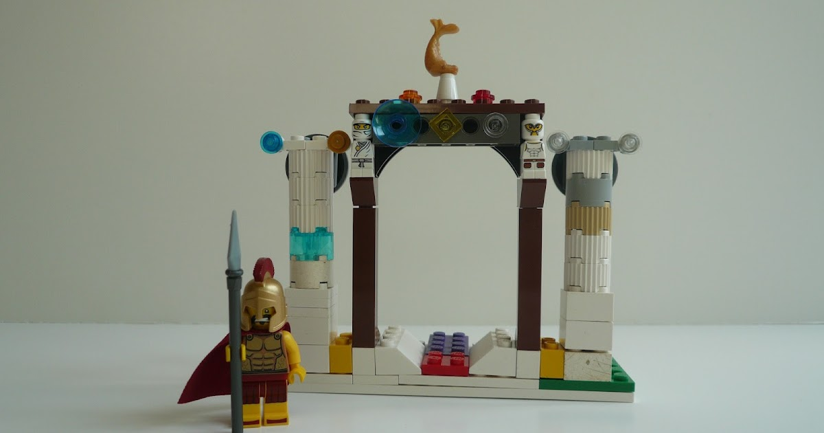 The Blog of Everything  Lego Arch of Constantine