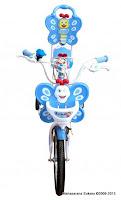 Sepeda Anak Nakita NL1202 Butterfly Sandaran 12 Inci dengan Ban Pompa