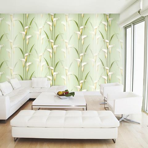 Chọn giấy dán tường cho phòng ngủ gắn liền với thiên nhiên