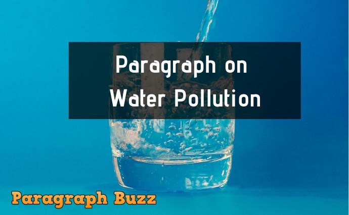 water pollution essay pdf