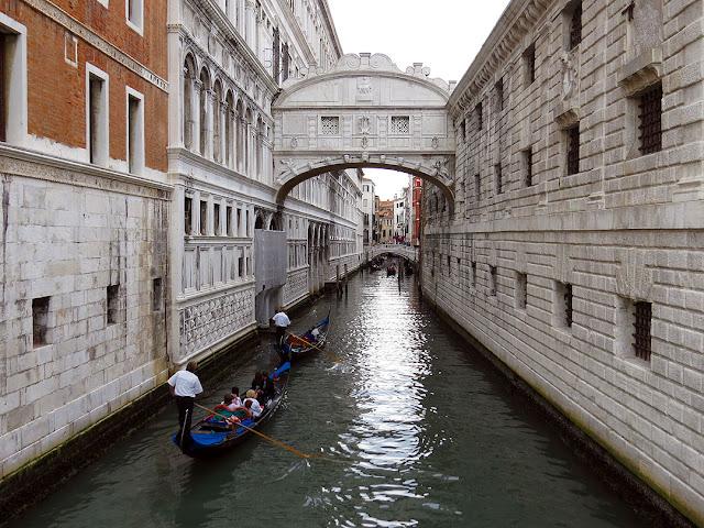 Ponte dei Sospiri, Bridge of Sighs, Rio de la Canonica, Ponte del Rimedio, Venice