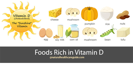 Foods Rich in Vitamin D