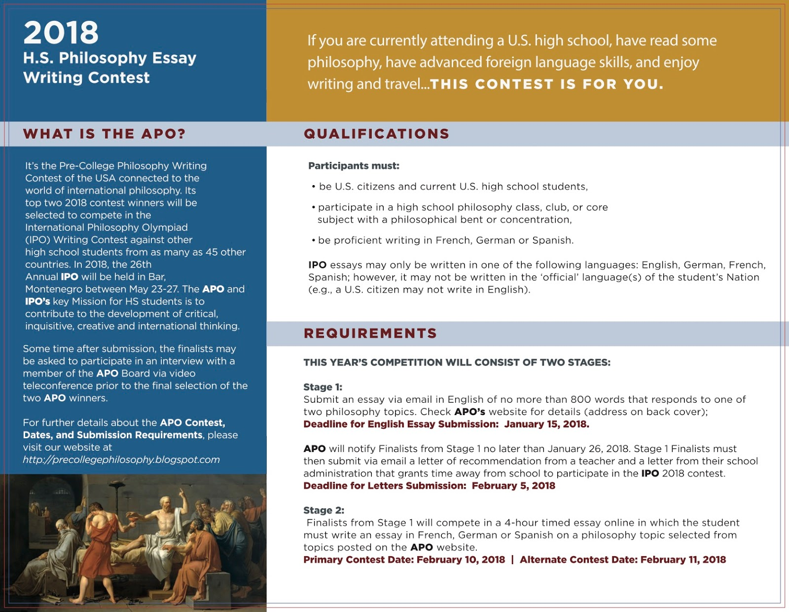 economics essay competition 2009 ThePensters Essay Writing Contest, 2018