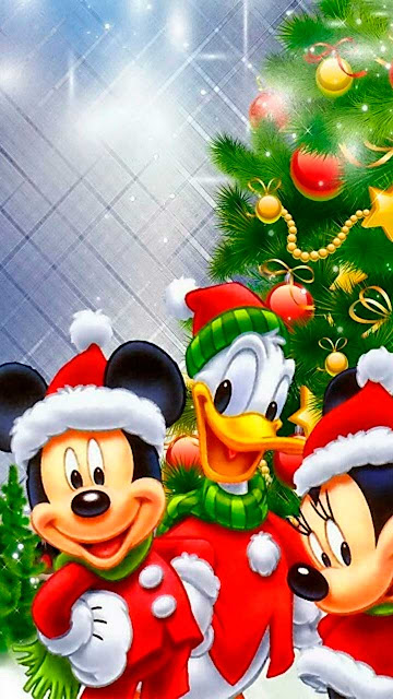 Fondos de Pantalla Navideños de Disney