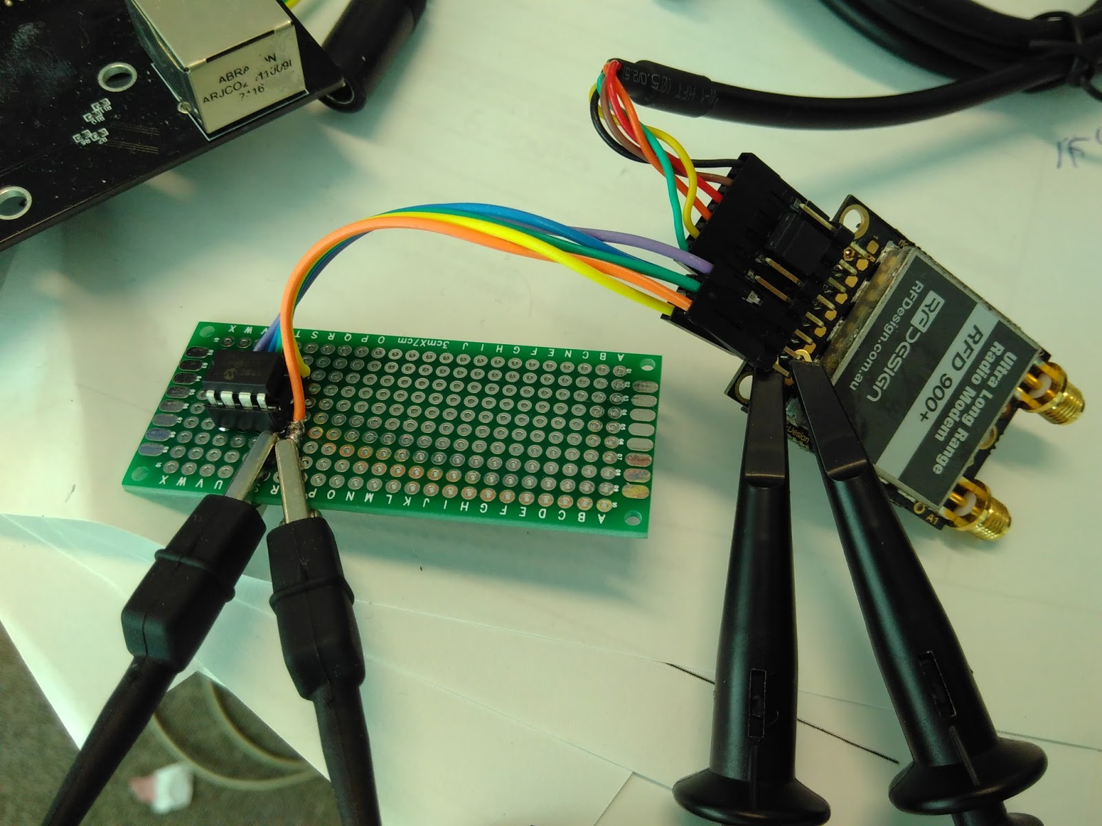 Enabling Communications Anywhere Anytime Mesh Extender Eeprom Spacesaving Design Simplifies Inwall Wiring And Keeps Messy Cables One Nice Little Trick That We Do To Save Power Consumption Is The Powered Directly From Of Gpios On Rfd900