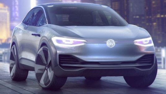 Volkswagen I.D. Crozz Crossover Concept - 2017 Electric Cars