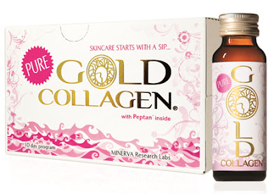 Pure gold Collagen nước uống bổ sung collagen cho làn da