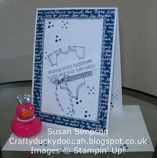 Stampin' Up! Susan Simpson Independent Stampin' Up! Demonstrator, Craftyduckydoodah!, Made With Baby's First Framelits Dies,Love, Gorgeous Grunge,