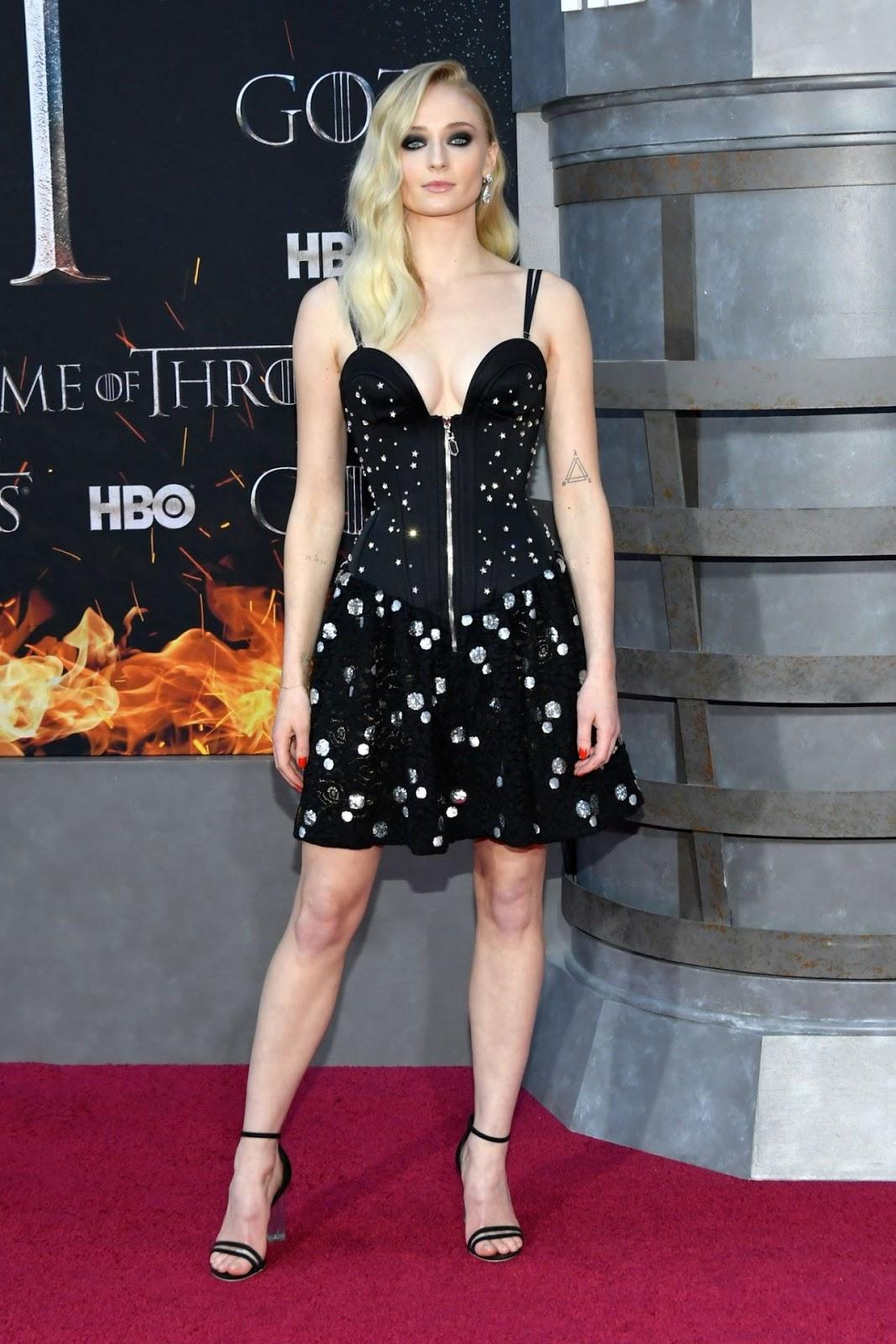 Sophie Turner – Game of Thrones Season 8 Premiere in NY