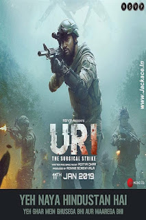 Uri: The Surgical Strike First Look Poster 3