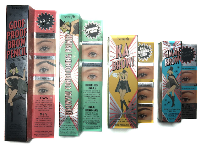 First Impressions: Benefit's New Brow Collection & Ka-Brow Demo