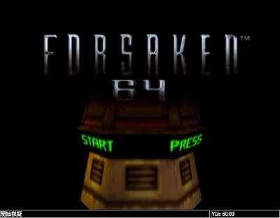 【N64】浩劫餘生(Forsaken),刺激的槍戰射擊類型遊戲!
