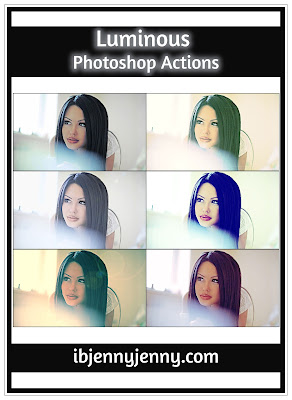 FREE LUMINOUS PHOTOSHOP ACTIONS