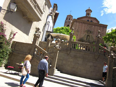 Gradas de Santiago in The Poble Espanyol