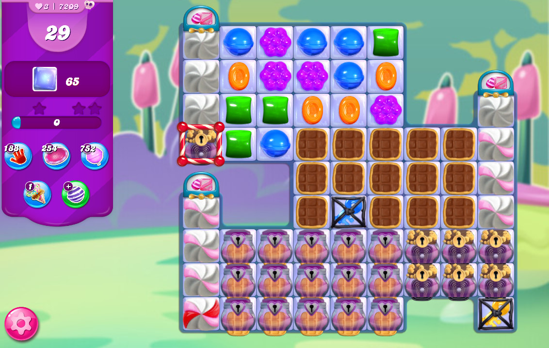 Candy Crush Saga level 7209