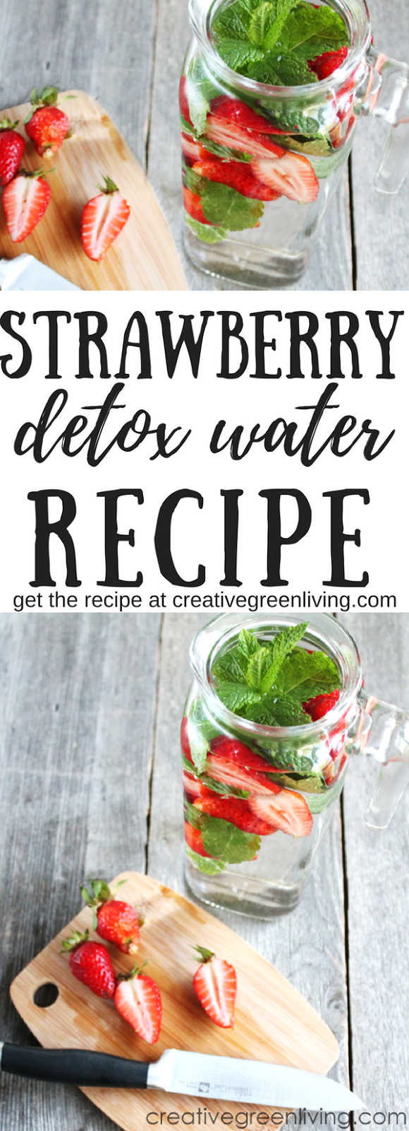 Delicious strawberry mint infused water recipe aka detox water created using the recipes generator forumfinder Images