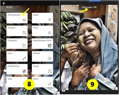Cara Membuat Foto Efek HDR di Smartphone dengan Snapseed 3