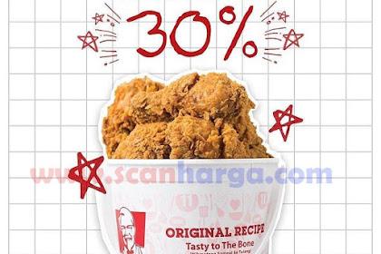 Promo KFC Via GoFood Diskon Hingga 30% Sampai 05 Desember 2018