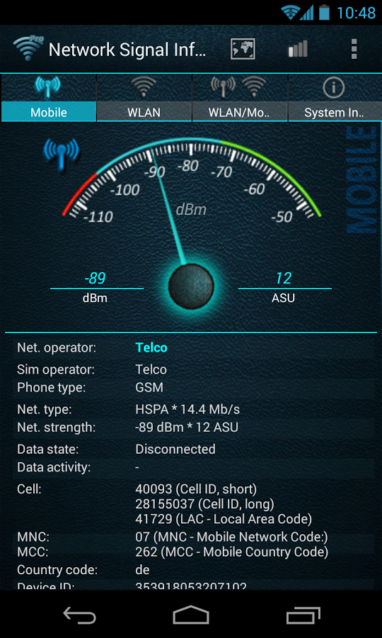 network signal info pro 2.15.05 apk