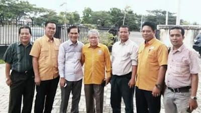 Silahturahmi Pengurus Partai Hanura ke Kantor KPU Kota Lubuklinggau