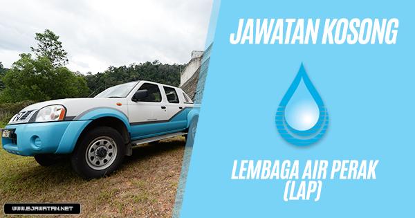jawatan kosong Lembaga Air Perak (LAP) 2019