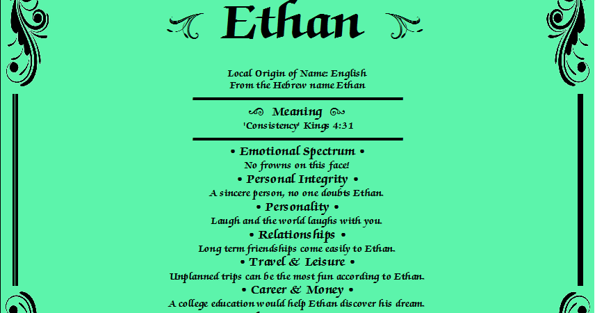 32++ Meaning of name ethan in hebrew ideas in 2021