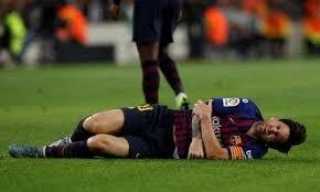 Patah Tulang Tangan, Messi Absen di El Clasico