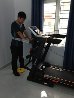 Máy chạy bộ điện Tech Fitness TF-18AS  Tài Phát.