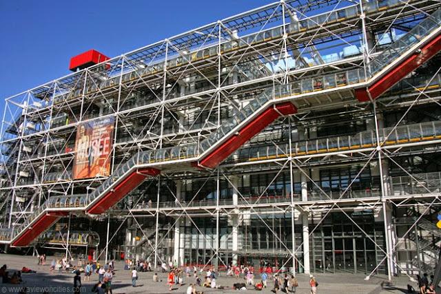 Museus com entrada gratuita em Paris Centre Pompidou