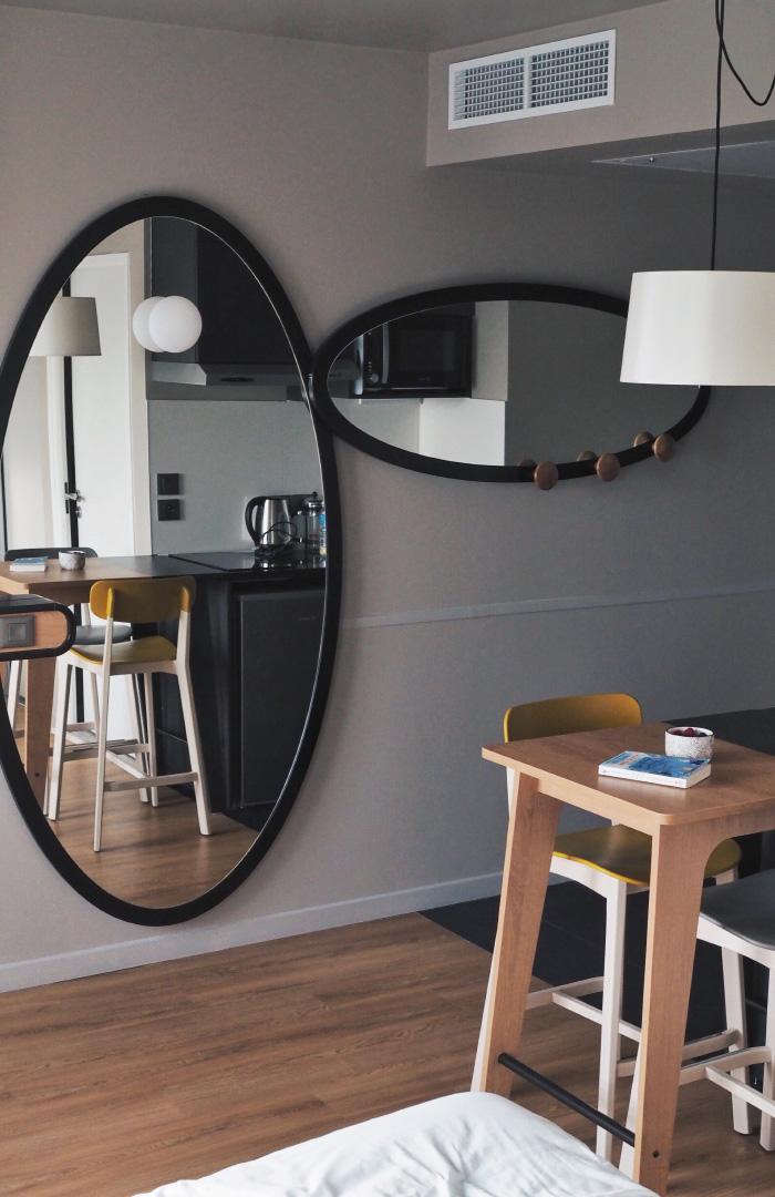 Chambre de l'aparthotel Adagio de Montpellier