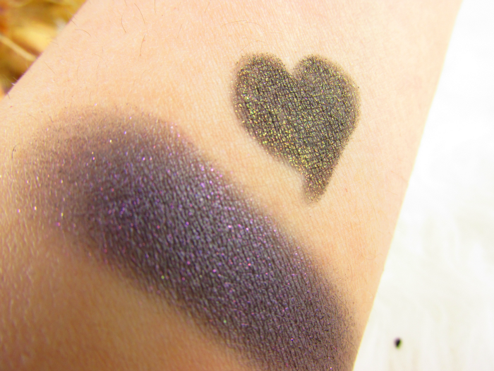 Swatches: ALCINA Absolutely Fabulous Limited Edition & Gewinnspiel - Crazy Eye Shadow in prune, Mystic Kajal Liner in wood