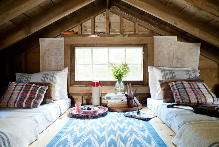 ESTILO RUSTICO: Cabana Rustica En New Hampshire