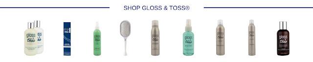 Gloss & Toss Professional Hair Products at glossandtoss.net