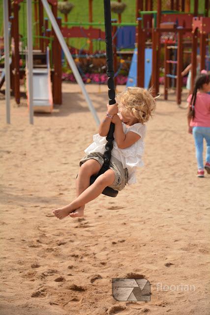 Plac zabaw w Parku miniatur MiniEUROLAND w Kłodzku - super atrakcja turystyczna Ziemii Kłodzkiej