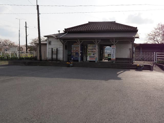 小湊鐵道 馬立駅