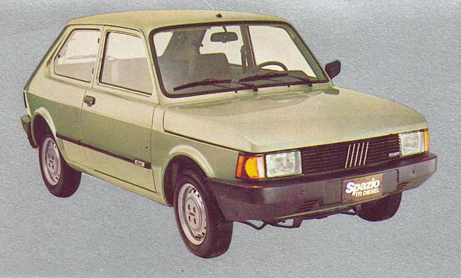 Archivo De Autos Fiat Spazio Trd Y Su Ficha Tecnica