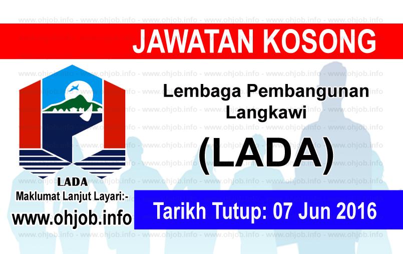 Jawatan Kerja Kosong Lembaga Pembangunan Langkawi (LADA) logo www.ohjob.info jun 2016